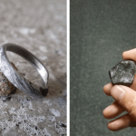 Check Out This Meteorite Engagement Ring