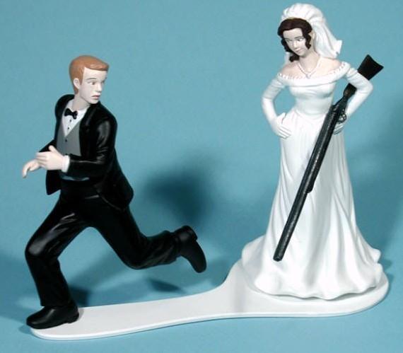 shotgun-wedding-cake-decoration