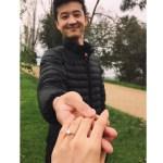 Ako Kondo's Round Cut Diamond Ring