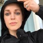 Amy Huberman's Round Cut Diamond Ring