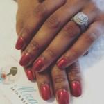 Connie Ferguson's Emerald Cut Diamond Ring