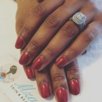 Connie Ferguson's Emerald Cut Diamond Ring
