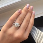 Kelsea Ballerini's Cushion Cut Diamond Ring