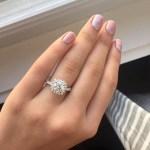 Kelsea Ballerini's Cushion Cut Diamond Ring