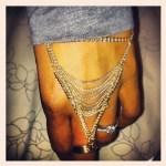 Mbali Maphumul's Round Cut Diamond Ring