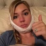 Chelsea Goff's Cushion Cut Diamond Ring