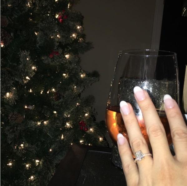 Chrishell Stause S Emerald Cut Diamond Ring