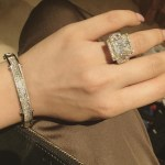Faryal Makhdoom's Princess Cut Diamond Ring