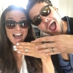 Liz Bock's Round Cut Diamond Ring