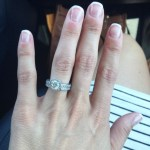 Shawntel Newton's Cushion Cut Diamond Ring