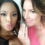 Luann de Lesseps' 8 Carat Emerald Cut Diamond Ring