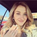 Sarah Darling's Emerald Cut Diamond Ring