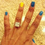 Shante Taylor's Square Shaped Diamond Ring