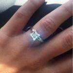 April Elizabeth's Square Shaped Diamond Ring