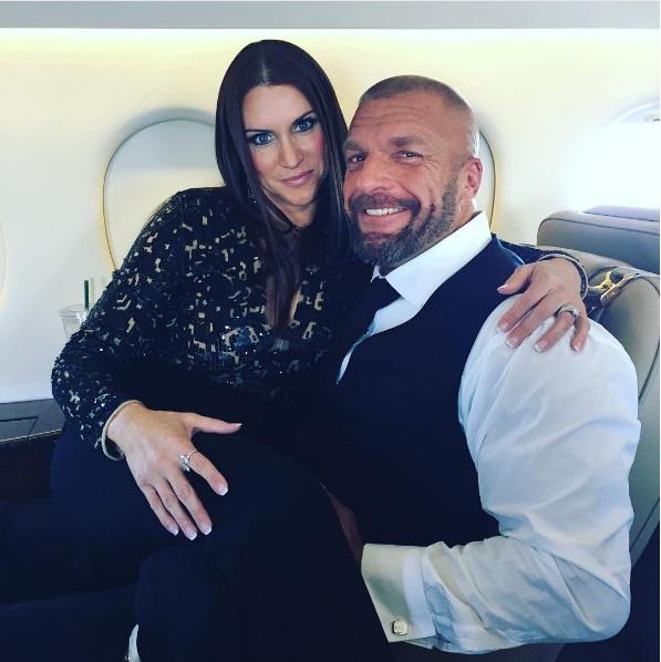 Stephanie McMahons Oval Cut Diamond Ring