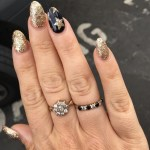 Louise McSharry's Flower Shaped Diamond Ring