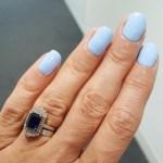 Pipa Gordon's Emerald Cut Sapphire Ring