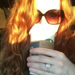 Rebecca Mader's Rectangular Cut Diamond Ring