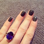 Sinead Kenny's Oval Cut Sapphire Ring