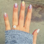 Molly Tarlov's Round Cut Diamond Ring