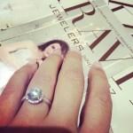 Elisa DiStefano's Round Cut Diamond Ring