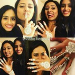 Sargun Mehta's Diamond Cut Diamond Ring