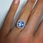 Ali Oetjen's Cushion Cut Madagascan Sapphire Ring