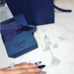 Jennifer Pfautch's Square Shaped Diamond Ring