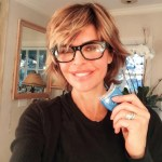Lisa Rinna's Square Shaped Diamond Ring