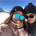 Sarah Lahbati's Round Cut Diamond Ring