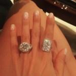 Larsa Younan's Round Cut Diamond Ring