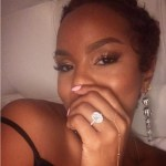 LeToya Luckett's Oval Cut Diamond Ring