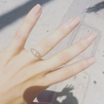 Britt Nilsson's Round Cut Diamond Ring
