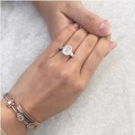 Feiping Chang's Emerald Cut Diamond Ring