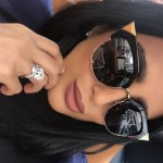 Lily Ghalichi's Oval Cut Diamond Ring