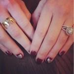 Meghan McDermott's Round Cut Diamond Ring