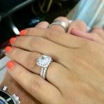Hillary Mullin's Cushion Cut Diamond Ring