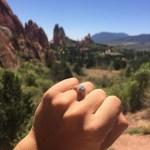 Tecia Torres' Cushion Cut Diamond Ring