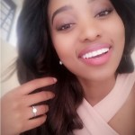 Ntando Kunene's Round Cut Diamond Ring