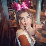 Amel Bouchoucha's Round Cut Diamond Ring