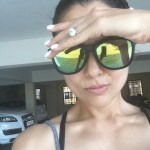 Amrita Arora's Round Cut Diamond Ring