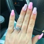 Angelina Pivarnick's Round Cut Diamond Ring