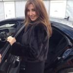 Nancy Ajram's Round Cut Diamond Ring