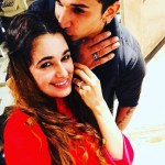 Yuvika Chaudhary's Round Cut Diamond Ring