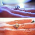 Erin Elizabeth Breslin's Round Cut Diamond Ring