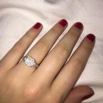 Jessi Smiles' Princess Cut Diamond Ring