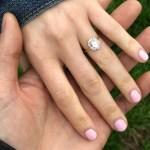 Kristen Korzenowski's Oval Cut Diamond Ring