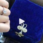 Alexandra Galarza's Round Cut Diamond Ring