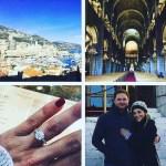 Danielle Trotta's Round Cut Diamond Ring