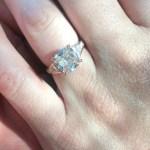 Vanessa Black's Round Cut Diamond Ring